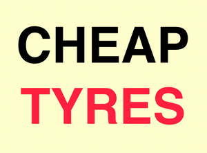 Cheap Tyres & Mechanical