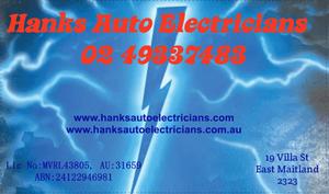 Hanks Auto Electricians