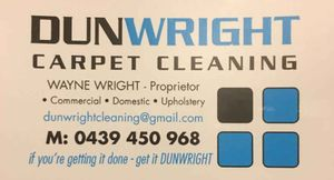 Dunwright Carpet Cleaning