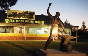 Headlie Taylor Header Museum
