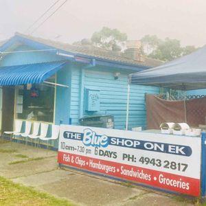 The Blue Shop On Ek