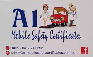 A1 Mobile Safety Certificates