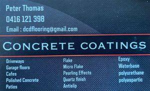 Peter Thomas Concrete Coatings