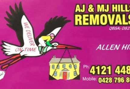 A J & M J Hills Removals